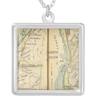 Somers, New York 2 Silver Plated Necklace