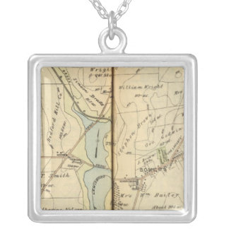 Somers, New York Silver Plated Necklace
