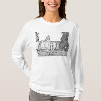 Somerset County Court House pencil 1, Historic ... T-Shirt