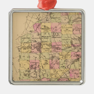 Somerset County, Maine Christmas Ornament