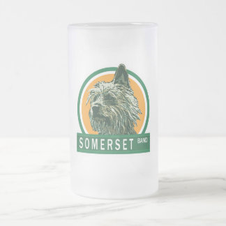 "Somerset ""El Chico"" 16oz. Frosted Stein Frosted Glass Mug"