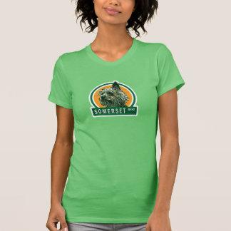 "Somerset ""El Chico"" Women's Ringer - Green/Forest Tshirt"