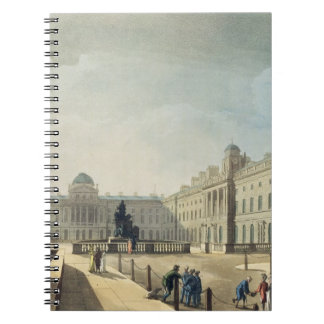Somerset House, Strand, from 'Ackermann's Microcos Spiral Notebook