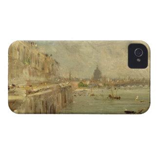 Somerset House Terrace from Waterloo Bridge, c.181 iPhone 4 Cases