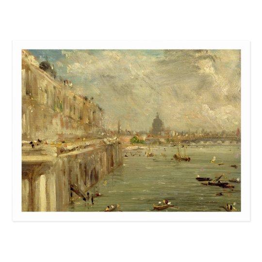 Somerset House Terrace from Waterloo Bridge, c.181 Postcard