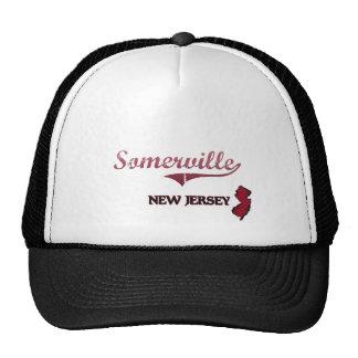Somerville New Jersey City Classic Trucker Hats