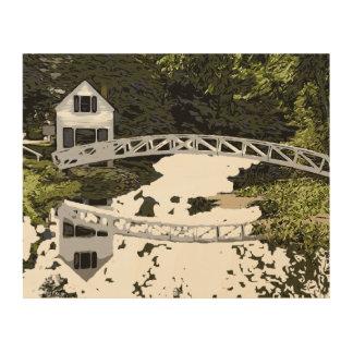 SOMESVILLE BRIDGE WOOD WALL ART