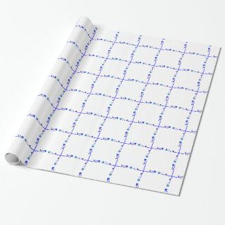 Something Blue Gift Wrap Paper