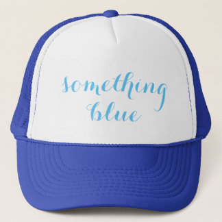 Something Blue Wedding Trucker Hat