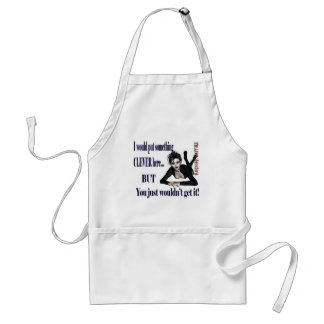 Something Clever Here - hardcore Couture Aprons