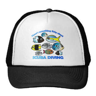 Something Fishy About Scuba Cap