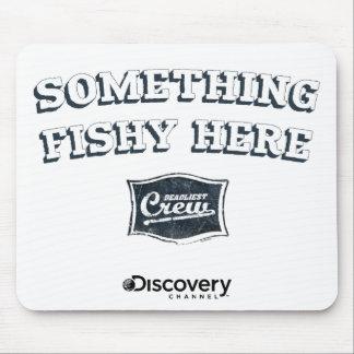 Something Fishy Here Mousepad