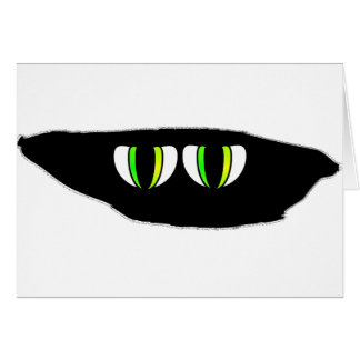Something is Watching You Greeting Card