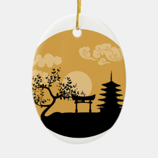 Something Japanese Christmas Ornament