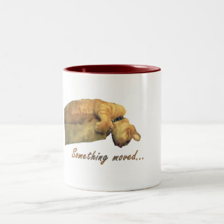 Something Moved - mug