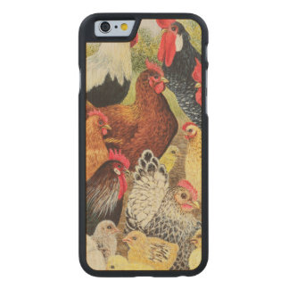 Something to Crow About Carved Maple iPhone 6 Case