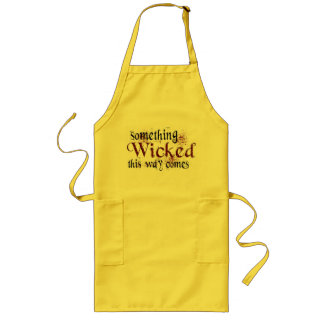 Something Wicked Long Apron