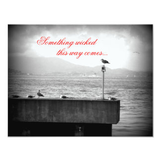 Something Wicked This Way Comes 11 Cm X 14 Cm Invitation Card