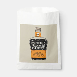 Something's Brewing Halloween Favor Bags Favour Bags