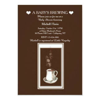 Something's Brewing Tea(or Coffee)Party Invitation