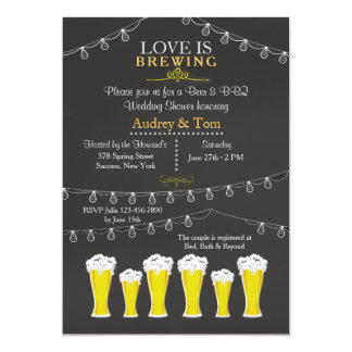 Something's Brewing Wedding Shower Invitation