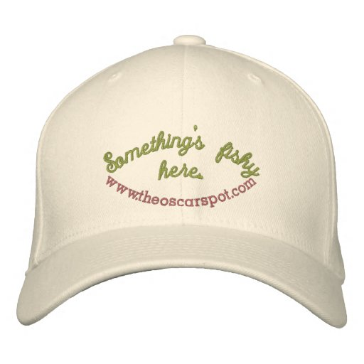 Something's fishy here... embroidered hat