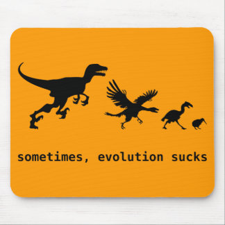 Sometimes, Evolution Sucks Mouse Mat