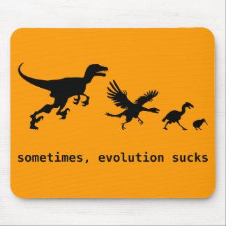 Sometimes Evolution Sucks Mousepad