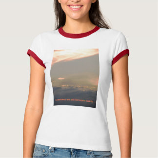 Sometimes no words are needed T-Shirt