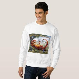 Sometimes the Dragon Wins - Red Sweatshirt