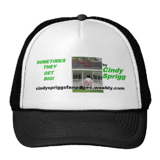 Sometimes They Get Big! Cover Art Trucker Hats