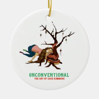 """Somewhat Portable Christmas Tree"" Ornament"