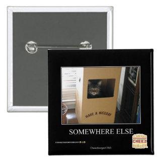Somewhere Else 15 Cm Square Badge