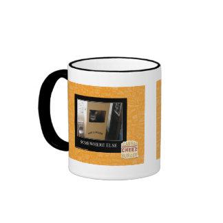 Somewhere Else Ringer Coffee Mug