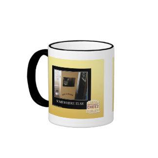 Somewhere Else Ringer Mug