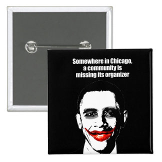 SOMEWHERE IN CHICAGO, A COMMUNITY IS MISSING ITS O 15 CM SQUARE BADGE
