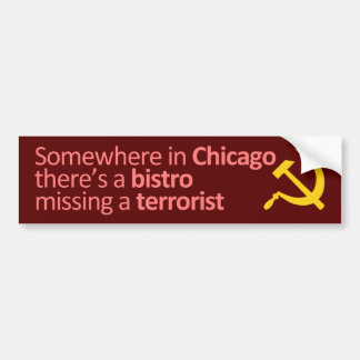 Somewhere in Chicago... Bumper Sticker