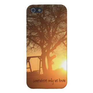 Somewhere Only We Know; Winter Sunrise iPhone 5 Covers