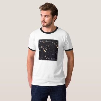 Somewhere Out There Ringer T-shirt