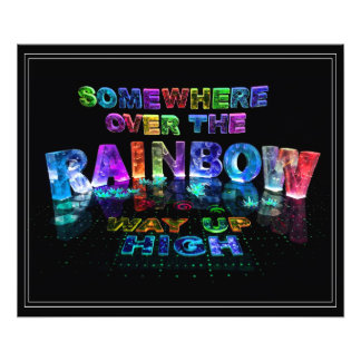 Somewhere Over the Rainbow Photo Print