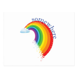 Somewhere Over the Rainbow Post Cards