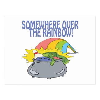 Somewhere Over The Rainbow Post Card