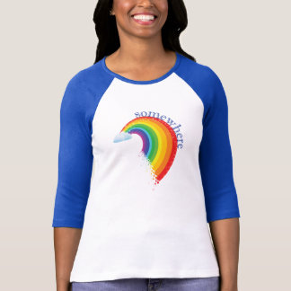 Somewhere Over the Rainbow Ragland T-Shirt