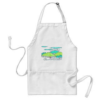 Somewhere / Sometime Standard Apron