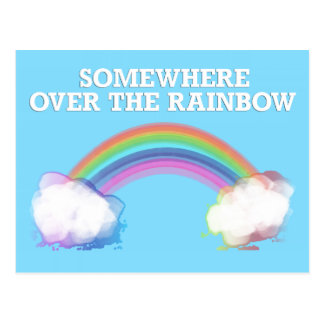 Somewhere to over the Rainbow Postcards