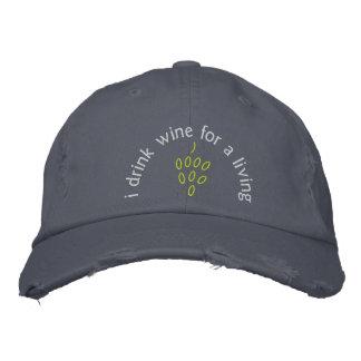 SOMMELIER SUMILLER WINE STEWARD WINE MASTER BASEBALL CAP