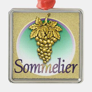 Sommelier Symbol Christmas Ornament