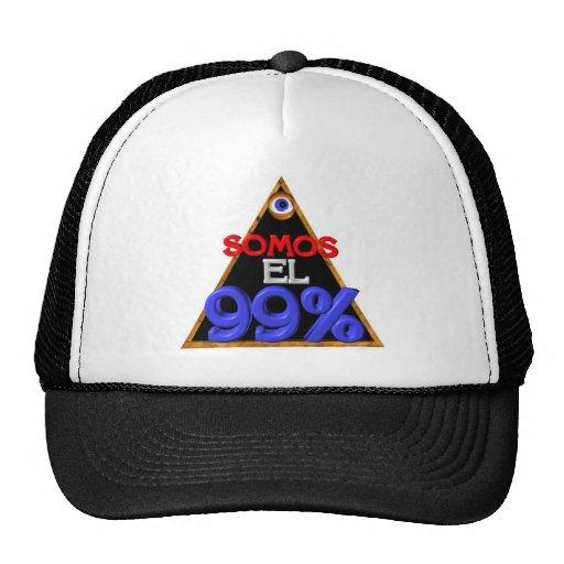 Somos el 99% Spanish We are 99 percent Hat