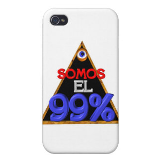 Somos el 99% Spanish We are 99 percent Case For iPhone 4