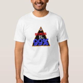 Somos el 99% Spanish We are 99 percent Tee Shirts